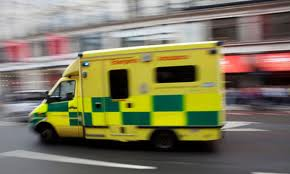 You're going home in a #Ladpack ambulance