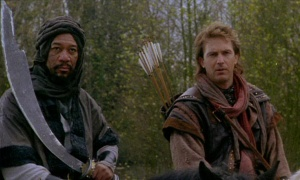 Much like Kevin Costner in Robin Hood: Prince of Thieves, #Ladpack made good use of mysterious strangers from distant lands. Plus it means you get to see Morgan Freeman, who is awesome.